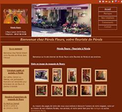 Site Perols Fleurs