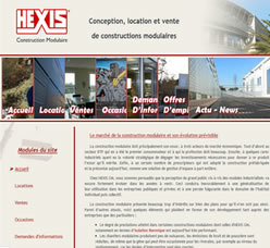 Site Hexis Constructions modulaires