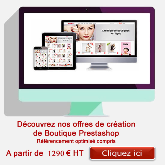 creation boutique prestashop
