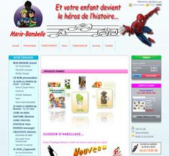 Site MarieBambelle